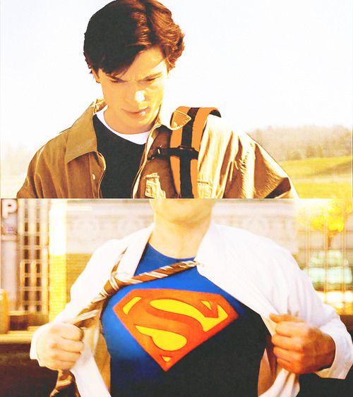 Smallville: Season 1 - Season 10  Look how far he came!
