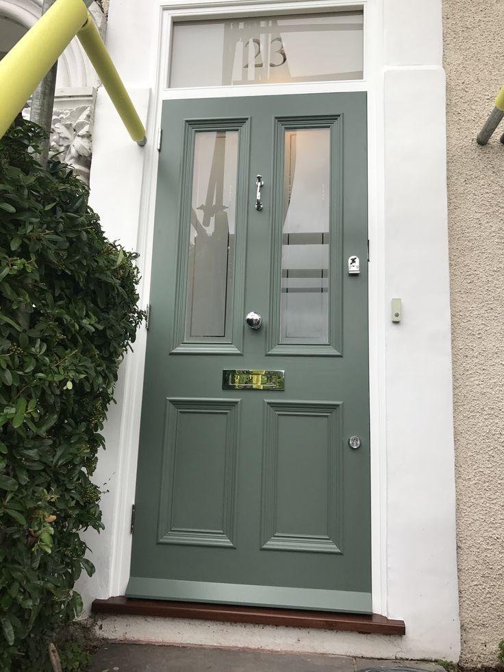 Beautiful Victorian front door in London