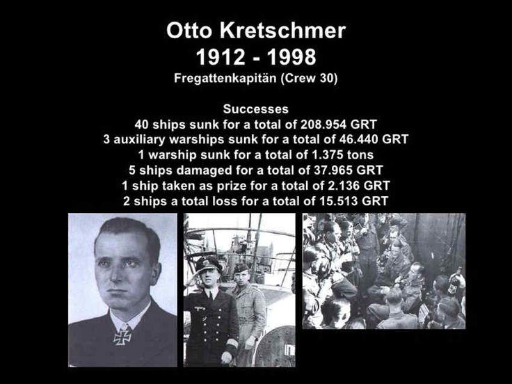 World War II: Otto Kretschmer German U Boat Ace via @learninghistory