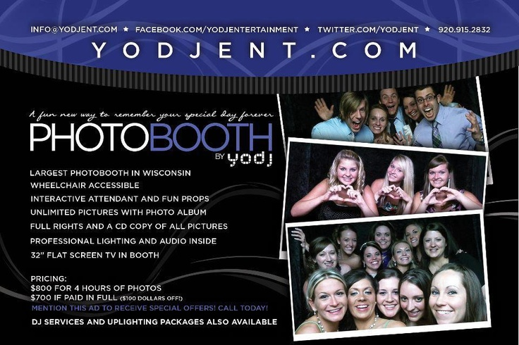 photobooth flyer