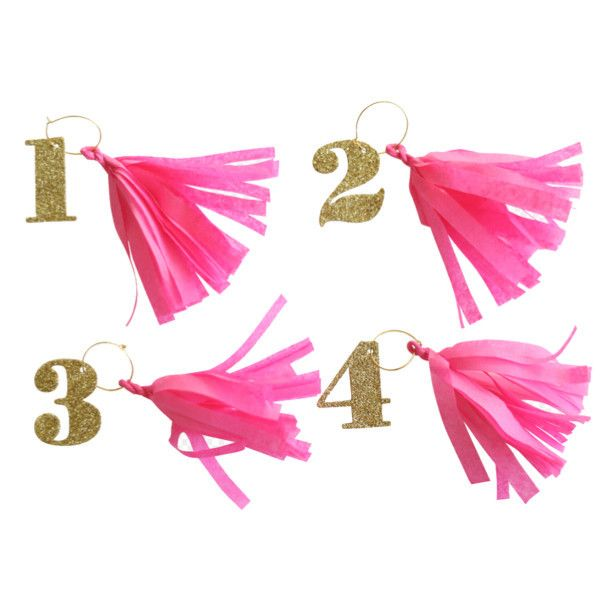 Tassel Drink Tags: Tags Fun, Number Drink, Drink Tassels, Party Tassel, Tassel Drink, Drinks, Products