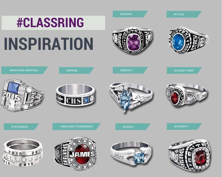 High School Class Rings Designs