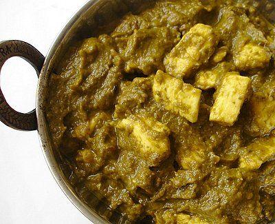 Garam Masala: Palak Paneer (épinards au fromage indien)