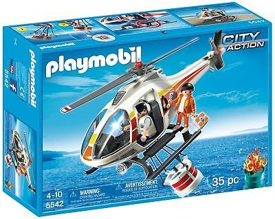 PLAYMOBIL Fire Fighting Helicopter Set