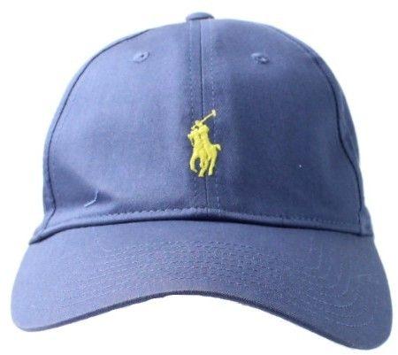 Polo Ralph Lauren Derby Blue Men's One-Size Adjustable Baseball Cap