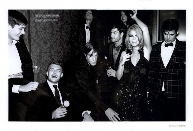 GQ Italia Editorial Night Party, December 2008 Shot #10