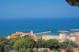 vista dall'alto di Palazzo Belmonte