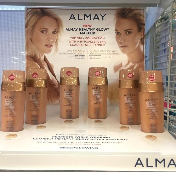 Spotted! New Almay Healthy Glow Makeup