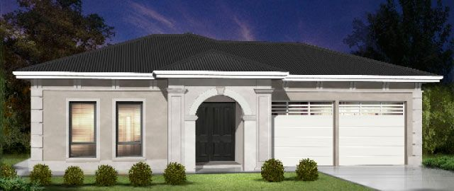 The Brittoli - from the Weeks Peacock Homes Heritage Collection. The stunning expressive facade and grand entry of the Brittoli set the tone for a home that is every bit as luxurious as you'd expect.