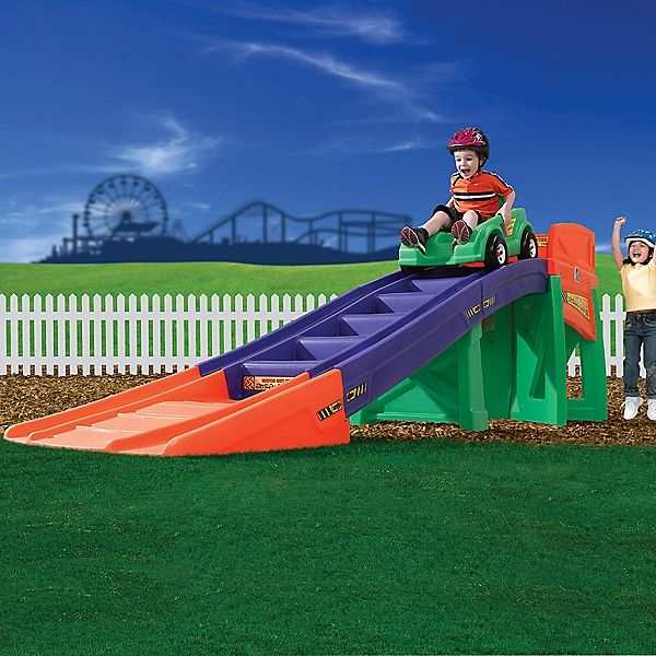 Backyard Roller Coaster Kit : Coaster! Bring the theme park home, with your own backyard roller