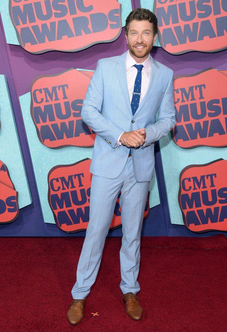 Pin for Later: Vive la country ! Découvrez toutes les stars aux CMT Awards ! Brett Eldredge