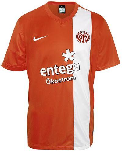 FSV Mainz 05 Home Kits 2013/14