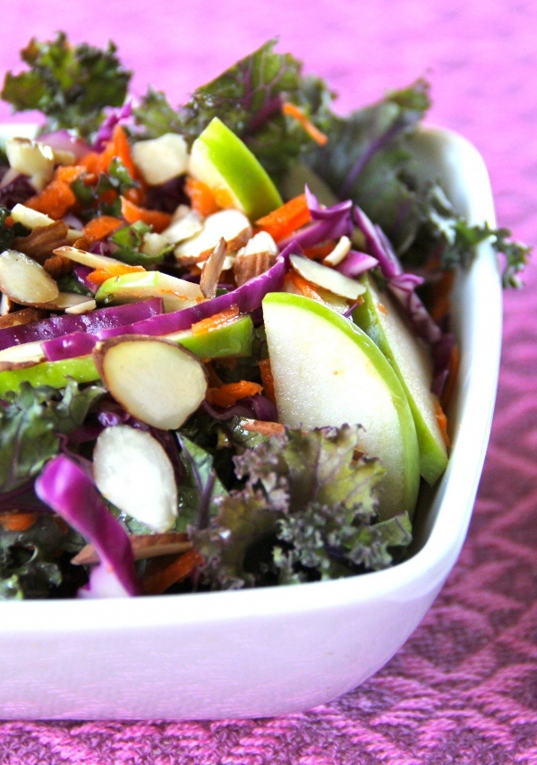 Get well salad! yummo!