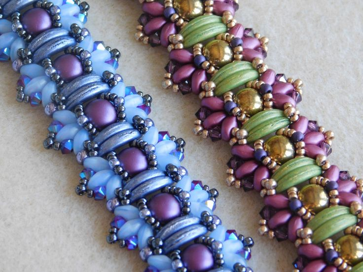 Beading Tutorial Beading Pattern Bracelet by poetryinbeads on Etsy