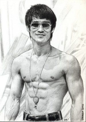 """""""The key to immortality is first living a life worth remembering.""""   ― Bruce Lee"""