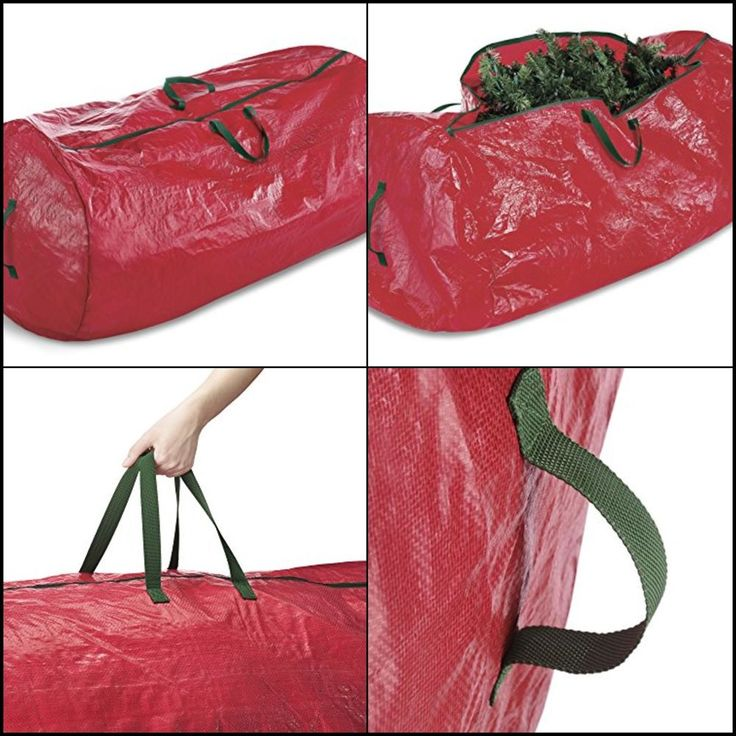 Christmas Tree Storage Bag Large to fit up to 9ft. lightweight Zippered handle #Whitmor