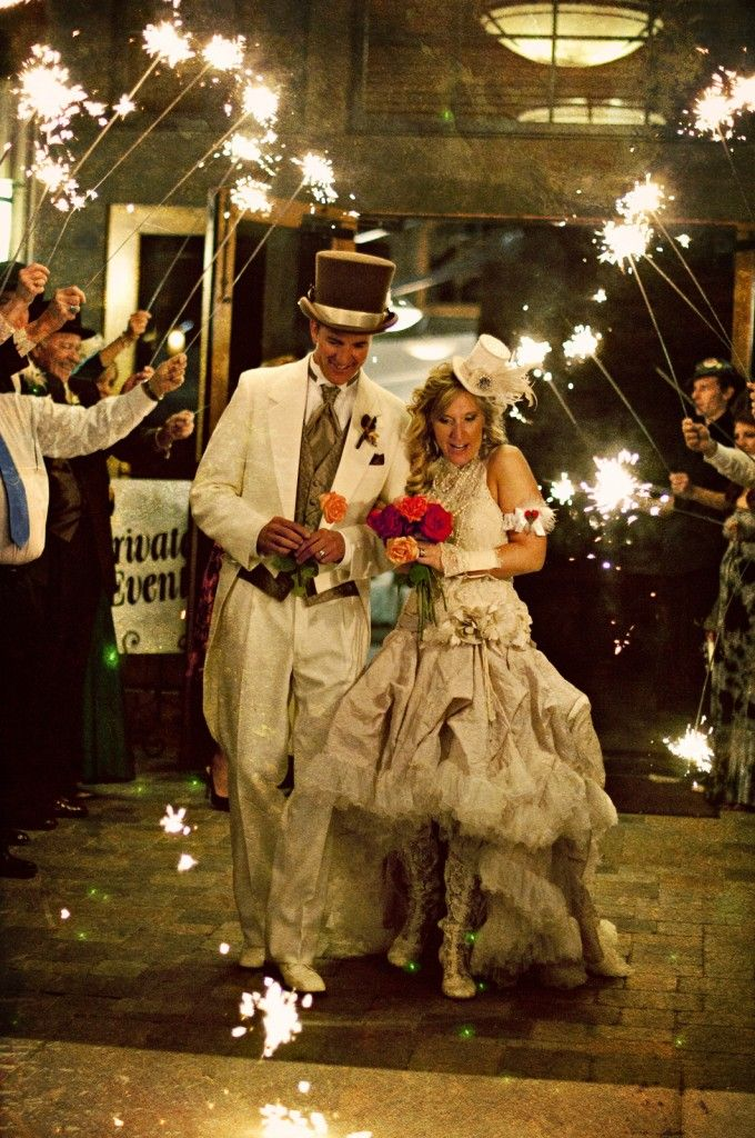 Steampunk wedding ... Wedding ideas for brides, grooms, parents & planners ... https://itunes.apple.com/us/app/the-gold-wedding-planner/id498112599?ls=1=8  ... The Gold Wedding Planner iPhone App.