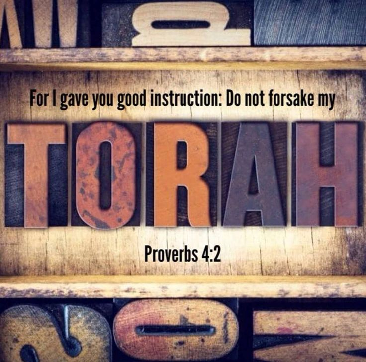 """Do not forsake my #Torah #instruction #teaching #truth"