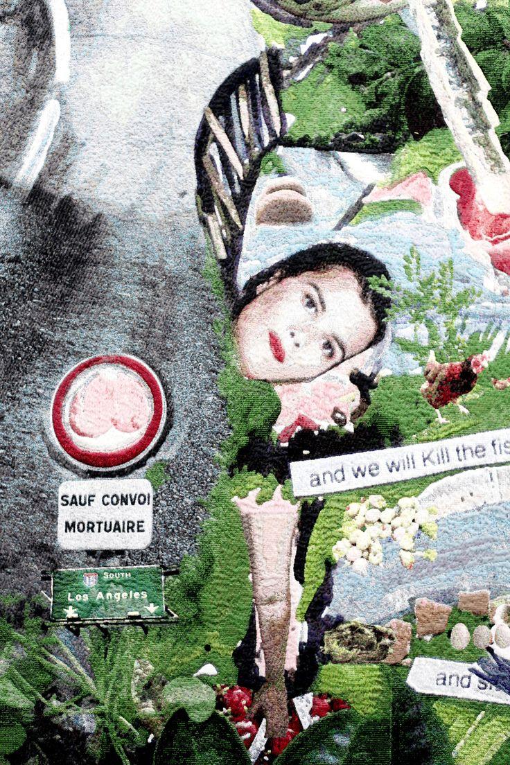 LAURE PROUVOT – The smoking Image, 2015 (detail) / Fiac 2015