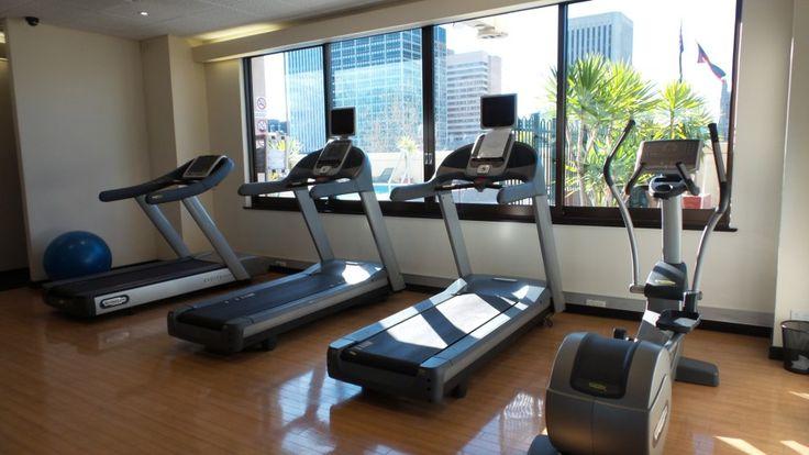 Gym at the Hilton Adelaide Hotel, South Australia
