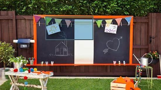 May 2013 pattern sheet childs outdoor art station Yahoo better homes and gardens