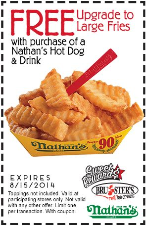 photo relating to Nathans Printable Coupons named Nathan scorching canine discount coupons - Airport parking newark discount coupons