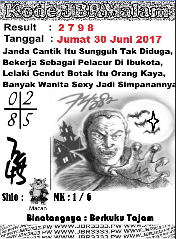 SYAIR HK JUMAT 30 JUNI 2017