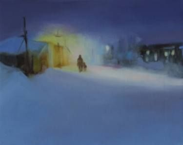 "Saatchi Art Artist Marta Zamarska; Painting, ""Siberian Nocturne 2"" #art"