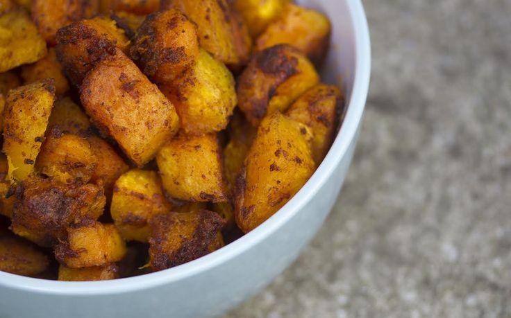 Cinnamon Roasted Crown Prince Squash [Vegan, Gluten-Free]