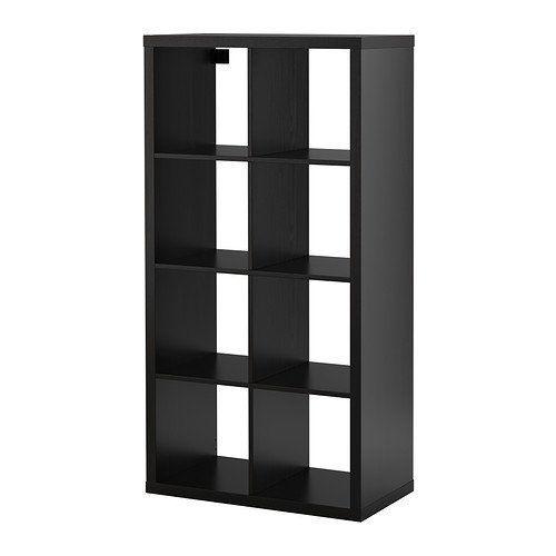 Ikea Kallax Bookcase Shelving Unit Display Black Brown Modern Shelf IKEA http://www.amazon.com/dp/B00JPT8STW/ref=cm_sw_r_pi_dp_omqowb143T8GQ