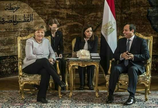 Sisi and Merkel attend technical ceremony under the foot of the Pyramids --------------- President Abdel Fattah Sisi and German Chancellor Angela Merkel attended the ceremony Technical primarily under the foot of the pyramids. It came ceremonial welcome his guest Egypt and her accompanying delegation, and is an opportunity to promote Egyptian tourism purposes and to increase European tourism flows, led Germany to Egypt. President Abdel Fattah al-Sisi and German Chancellor Angela Merkel held…