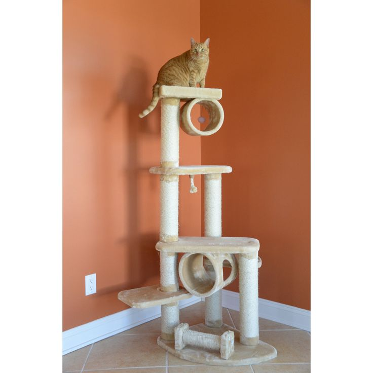 Armarkat Cat Jungle Gym Pet Furniture Condo Scratcher - A7463B - A7463B