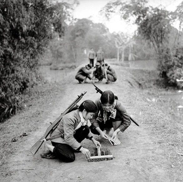 Viet Cong Booby Traps During The Vietnam War.   Peter Alan Lloyd