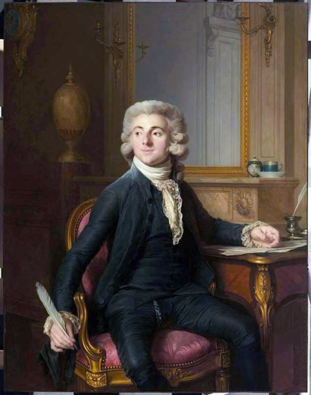 Portrait of a Gentleman (Jean-Baptiste-Francois Dupre?) Artist: Joseph-Sifrede Duplessis Date:ca. 1779–1782   Fine Arts Museums of San Francisco