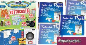 Omaggi: #Volantino #Risparmio #Casa: promozione festa del papà (link: http://ift.tt/2m97Ifl )