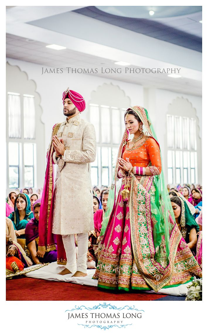 I'm sooo in love with these colors! Colorful Lehenga Photo:- James Thomas Long Photography