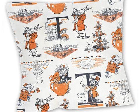 Cushion: Alice in Wonderland