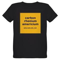 cream chem organic kids dark t-shirt > $25.49US > babybitbyte (cafepress.com/babybitbyte) #cafepress #babybitbyte #wutangclan #wu #wutang #odb #rza #ghostface #methodman #dolladollabillyall #cream #chemistry #chemist #periodictable #chemlab #chem #nerd #nerdy #geek #geeky #nerdhumor #geekhumor #rap #hiphop #brooklyn #brooklynzoo #zu #carbon #rhenium #americium #chemical #chemicals #science #scientist #itsscience #cash #cashrules #cashruleseverything #cashruleseverythingaroundme