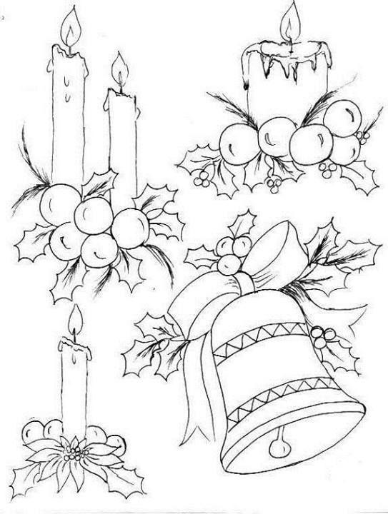 imágenes  velas de navidad