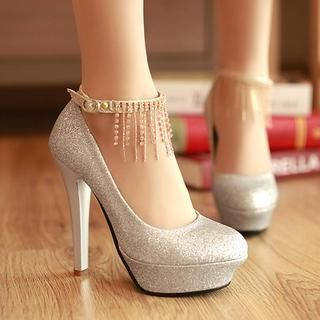 Glitter Pumps from #YesStyle <3 Colorful Shoes YesStyle.com