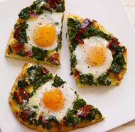 ADVERTISER:  McCormick - Applewood Bacon & Eggs Breakfast Flatbread