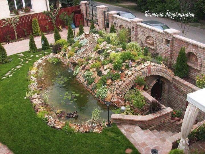 Sziklakertek és kerti tavacskák (45 fantasztikus ötlet) - Bekezdés