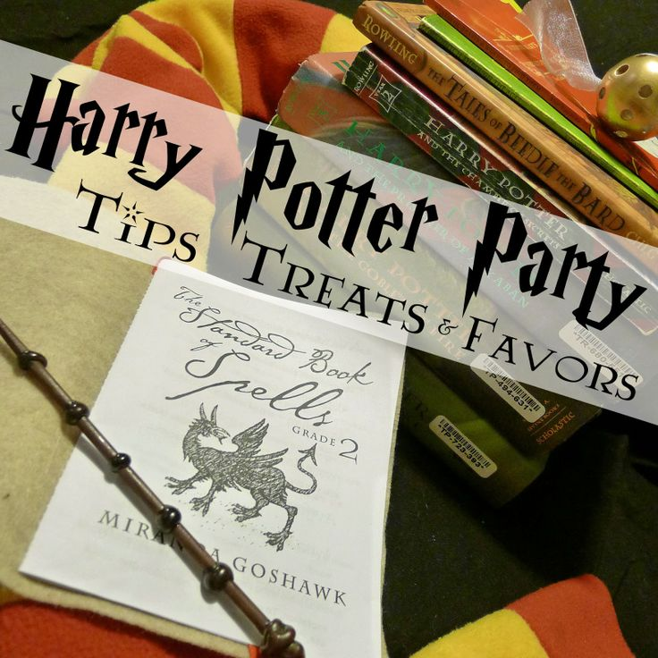 Helping Little Hands: Harry Potter Birthday Party - Tips, Treats and Favors.  This is an AMAZING party full of great ideas and how-to!  Don't miss this!