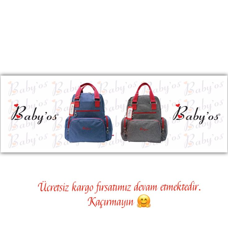 Baby'os Anne Bebek Çantaları Bebişlerimizin biberonu nerde 🍼 emziği nerde 🍭oyuncağı nerde🎈derdine son ☺️ Tüm kolaylıkların düşünüldüğü geniş iç-dış cephelere sahip çantalarımız için Dm den iletişime geçebilirsiniz 🙋🏼 Üstelik ücretsiz kargo seçeneği ile 👍🏻