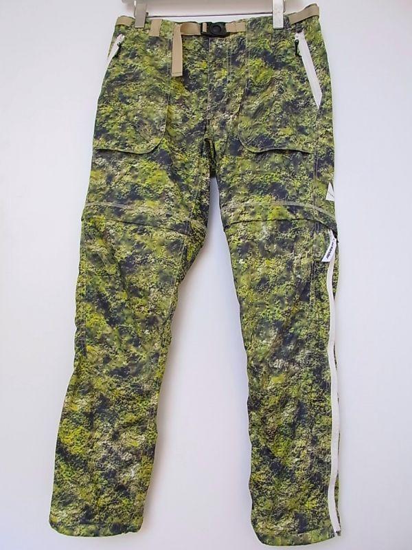 画像1: and wander / アンドワンダー / moss trek 2way pants