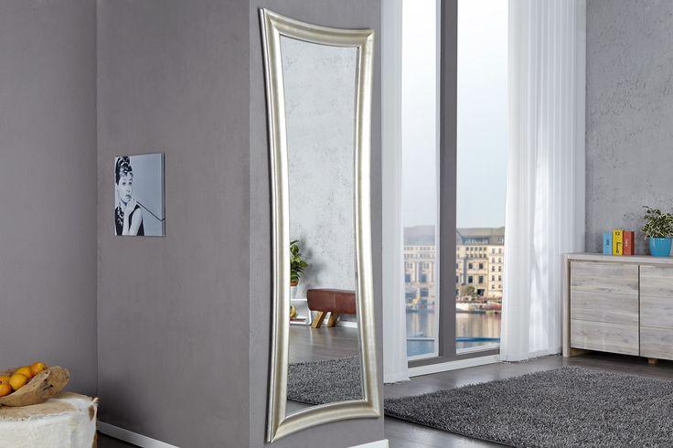 Nástenné zrkadlo VALENTIE - strieborná