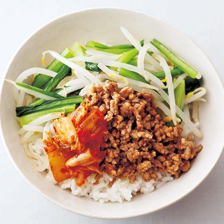 もやしビビン丼のレシピ by伊藤朗子さんの料理レシピ -  レタスクラブニュース
