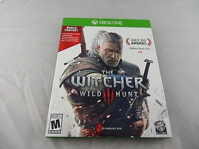 awesome The Witcher 3 III Wild Hunt Xbox One Extras Only No Game - For Sale Check more at http://shipperscentral.com/wp/product/the-witcher-3-iii-wild-hunt-xbox-one-extras-only-no-game-for-sale/