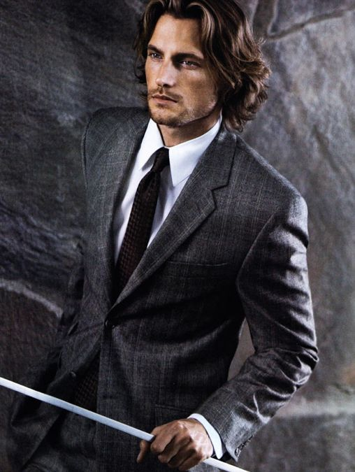 Gabriel Aubry for Calvin Klein Collection Fall 2006 Campaign _
