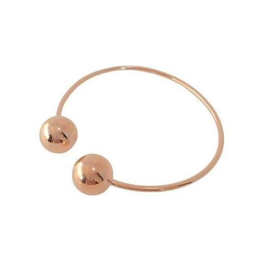 DOUBLE BALLIN BANGLE (ROSE GOLD)  www.minimalistjewellery.com.au    #minimalistjewelry #minimalistjewellery #minimalist #jewellery #jewelry  #jewelleries #jewelries #minimalistaccessories #bangles #bracelets #rings  #necklace #earrings #womensaccessories #accessories